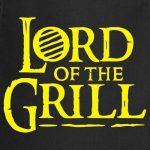 Spreadshirt Barbecue Lord Of The Grill Tablier de cuisine de la marque Spreadshirt image 1 produit