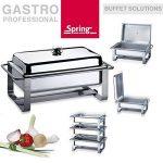 Spring Gastro plat-réchaud avec couvercle 4025000610 de la marque Spring image 1 produit