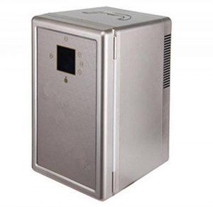 STEAM PANDA Mini voiture portative/maison double-employez le réfrigérateur, 16 litres grande capacité et le réfrigérateur double-noyau de voiture de la marque STEAM PANDA image 0 produit