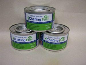 Sunnex Chauffe-plat chauffe New carburant Gel Lot de 3 de la marque Chafer gel image 0 produit