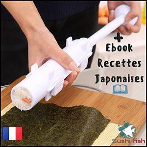 Sushi Bazooka - Appareil à Sushis et Makis - Ustensile pour préparation de Sushis et Makis - Qualité supérieur - Notice incluse - + Offert 1 Ebook sur les Recettes Japonaises ! de la marque Sushi Fish image 0 produit
