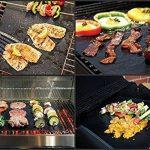 Tapis de barbecue | Feuilles de cuisson | set de 3 pièces | réutilisable | fabriqué en silicone avec teflon | 100% anti-adhésif | accessoires bbq de la marque Coninx® image 2 produit