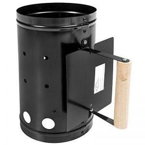 TecTake Allumeur charbon de bois poignée allume-feu noir de la marque TecTake image 0 produit