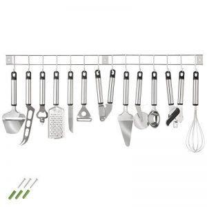 TecTake Lot de 13ustensiles de cuisine avec support d'accrochage de la marque TecTake image 0 produit
