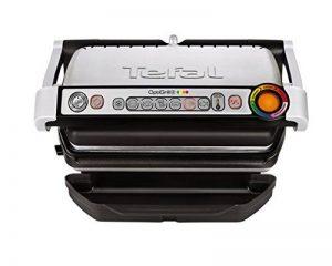 Tefal GC712D12 Optigrill+ Grille Electrique Aluminium Gris/Noir 36,5 x 34,5 x 18 cm de la marque Tefal image 0 produit
