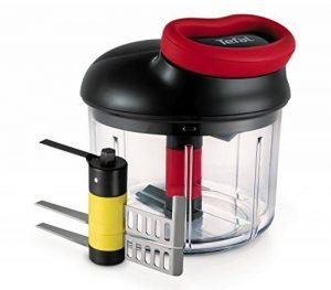 Tefal K0981114 Hachoir 900mL + 2nd lame purée ustensile de cuisine à système rotatif breveté de la marque Tefal image 0 produit
