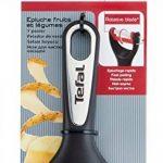 Tefal K2071814 Ingenio Eplucheur Fruit et Légumes à lame curvée ustensile de cuisine noir et rouge sans bisphénol A de la marque Tefal image 2 produit