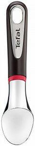 Tefal K2072214 Ingenio Cuillère glace Aluminium Chromé avec angle circulaire ustensile de cuisine noir et rouge sans bisphénol A avec insert silicone de la marque Tefal image 0 produit