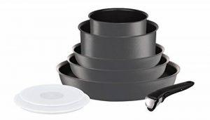 Tefal L6589403 Set de poêles et casseroles - Ingenio 5 Performance Gris 8 Pièces - Tous feux dont induction de la marque Tefal image 0 produit