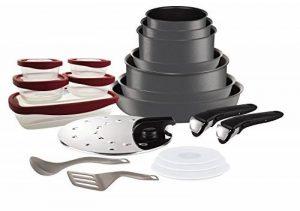 Tefal L6589903 Set de poêles et casseroles - Ingenio 5 Performance Gris 20 Pièces - Tous feux dont induction de la marque Tefal image 0 produit