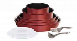 Tefal L6599303 Set de poêles et casseroles - Ingenio 5 Performance Rouge 10 Pièces - Tous feux dont induction de la marque Tefal image 0 produit