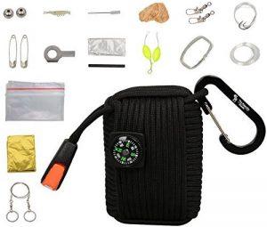 The Friendly Swede Pod–Survival Kit de survie paracord avec scie fil, couverture de survie et de la marque The Friendly Swede image 0 produit