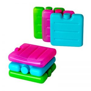 ToCi Lot de 3 mini pains de glace Bleu/rose/vert, 6 de la marque ToCi image 0 produit