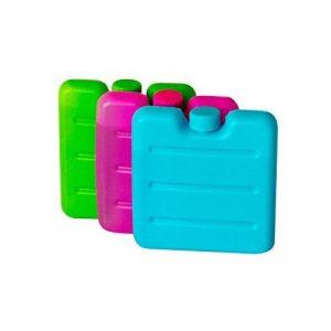 ToCi Lot de 3 mini pains de glace Bleu/rose/vert de la marque ToCi image 0 produit