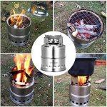 TOMSHOO Réchaud de Camping Pliable Poêle Portable en Acier Inoxydable pour Barbecue Randonnée Camping Pique-nique de la marque TOMSHOO image 5 produit