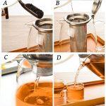 TOYO HOFU Théière en verre transparente avec infuseur amovible - 1100 ml de la marque TOYO HOFU image 3 produit