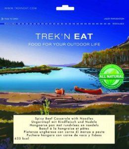 TREK'N EAT - Bœuf à la hongroise et pâtes lyophilisés de la marque Trek´n Eat image 0 produit