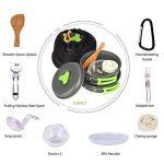 TTLIFE Camping poêlé en Aluminium pour 1 à 3 Personnes13 Sets Kit /Durable et Compact - Ustensiles de Cuisine pour Camping/Bushcraft/ Survie/ Randonnée / Outdoor/ Pique-nique/ Excursion(B) de la marque TTLIFE image 3 produit