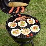 TY&WJ Portable Barbecues à charbon,Réglable Aéroport Grill Maison jardin Barbecues Pour Bbq Arrière-cour Hayon Parti Camping-noir 38x38cm(15x15inch) de la marque TY&WJ image 3 produit