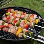 TY&WJ Portable Barbecues à charbon,Réglable Aéroport Grill Maison jardin Barbecues Pour Bbq Arrière-cour Hayon Parti Camping-noir 38x38cm(15x15inch) de la marque TY&WJ image 4 produit