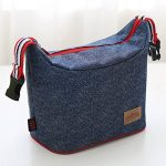 UEK Sac Repas Sac à Déjeuner Isotherme Imperméable Pliable Lunch Bag Organiseur de Voyage Picnic Ecole de la marque WHT image 1 produit