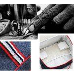 UEK Sac Repas Sac à Déjeuner Isotherme Imperméable Pliable Lunch Bag Organiseur de Voyage Picnic Ecole de la marque WHT image 4 produit