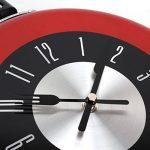 UQ Horloge murale Cuisine Poêle Diamètre 26cm Rouge de la marque UNIQUEBELLA image 2 produit
