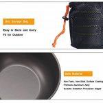 Ustensiles de cuisine portatifs pour camping, outils de cuisine pliante en plein air pour le pique-nique, la pêche, la randonnée de la marque Spotact image 4 produit