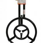 Vaello Campos–Réchaud en acier 2feux à gaz butane/propane cm.40pour poêle à paella de la marque CDP image 1 produit