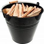 Valiant FIR243 Seau pour petit bois de cheminée Noir de la marque Valiant image 1 produit