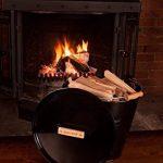 Valiant FIR243 Seau pour petit bois de cheminée Noir de la marque Valiant image 3 produit