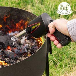 Ventilateur barbecue - Pour raviver les braises - Barbecues et cheminées - Mécanisme à air - Emballage sous blister - de la marque Sconosciuto image 0 produit