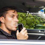 VICTSING Éthylotest numérique Alcootest Électronique Portable avec écran LCD avec Capteur et LCD Écran 4 Embouts Remplacé 750mAh batterie rechargeable pour Chauffeurs de la marque VICTSING image 1 produit