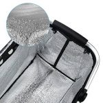 Vkaiy 30L Panier Pique-nique, étanche Sac Isotherme Pliable Panier souple Refroidisseur Sac de Pique-nique isolée pour épicerie, Shopping, Camping, Outdoor, Voiture de la marque Vkaiy image 3 produit