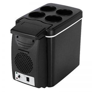 Voiture de réfrigérateur, Autoinbox 12V Camping Portable Voyage réfrigérateur extérieur 6L Cooler Warmer Chauffage électrique multifonction réfrigérateur Mini réfrigérateur glacière Noir de la marque AUTOINBOX image 0 produit