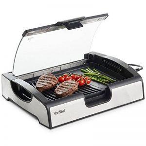 VonShef Barbecue de table électrique 1500W – Grill avec réglage de la température et plaques amovibles de la marque VonShef image 0 produit