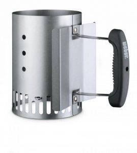 Weber 7447 - Cheminée d'allumage petit modèle pour modèles Smokey Joe® ou Go-Anywhere® avec poignée de la marque Weber image 0 produit
