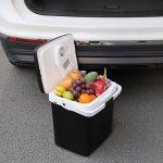 WOLTU KUE002sz Glacière électrique Mini Réfrigérateur 26L isotherme chaud/froid, 12V et 230V pour voiture et camping [Classe énergétique A ++],Noir de la marque WOLTU image 5 produit