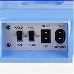 woyao13deng Réfrigérateur Glacière électrique, mini Frigo Voiture pour voiture et/voiture Réfrigérateur/pour la maison/bureau/voiture/bateau Refroidisseur et chauffage de la marque woyao13deng image 2 produit