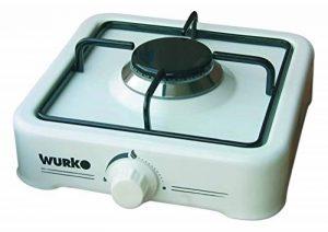 wurko 027030–Cuisinière à gaz, 1feu, blanc émaillé de la marque Wurko image 0 produit