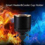 XIAOYA Porte-Gobelet Voiture Version Mise À Jour Voiture Holder Support Bouteille Mini Réfrigérateur Refroidissement Et Réchauffement 2 En 1 Puissance Par Prise De Véhicule 12V DC de la marque XIAOYA image 2 produit