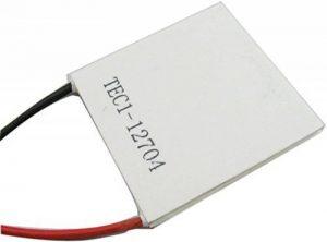 Yeeco 40mm * 40mm TEC1-12704 TEC Thermo-électrique Glacière Panneau DC 12V Thermo Électrique Colling Générateur Refroidissement Peltier Assiette Module Thermostat Refroidisseurs de la marque Yeeco image 0 produit