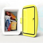 YLLXX Mini-Réfrigérateur, Boîte De Refroidissement Électrique De, Congélateur Autonome, Glacière Thermoélectrique Avec Fonction De Refroidissement Et De Réchauffement Réfrigérateur De Voiture (26 * 28 * 19.7Cm) de la marque Réfrigérateur de voiture image 2 produit