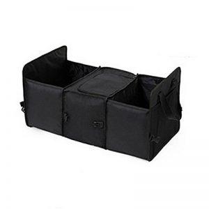 Zantec Tissu Oxford pliable de voiture Truck Organiseur Boîte de rangement avec sac isotherme de voyage Sacs de rangement–Sac de Rangement pour boîte à gants de cuisine Organiseur de coffre de voiture Cooler Stockage pliable de la marque Zantec image 0 produit